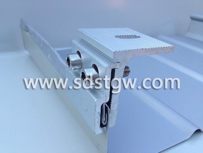 360度锁边屋面板夹具470475矮立边屋面编码D002