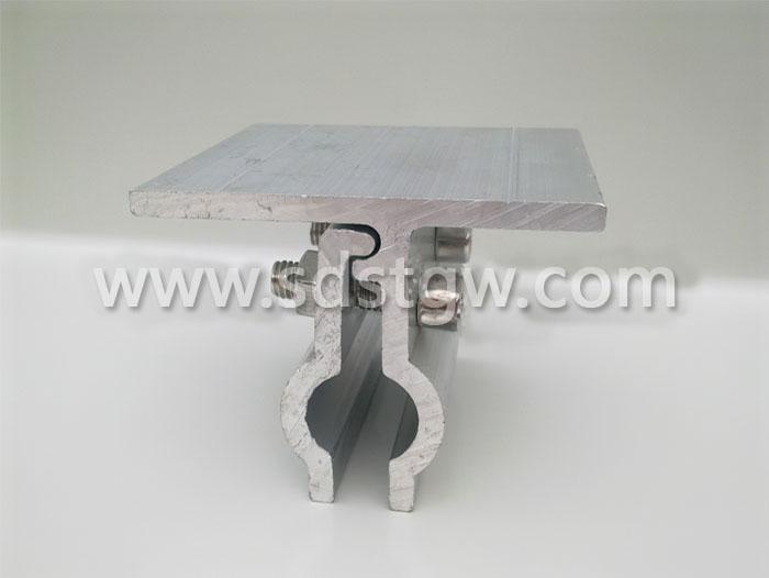 铝镁锰板直立锁边平式夹具