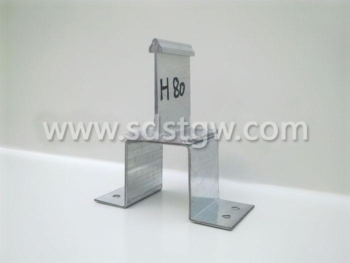 几字形铝镁锰板支座