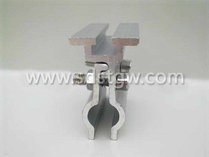 直立锁边金属屋面转接光伏夹具 编码D003