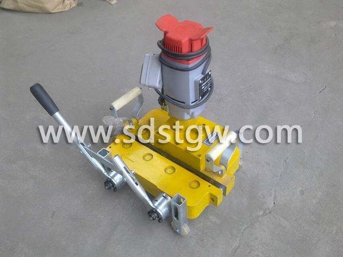 直立锁边铝镁锰板电动锁边机正面430420400