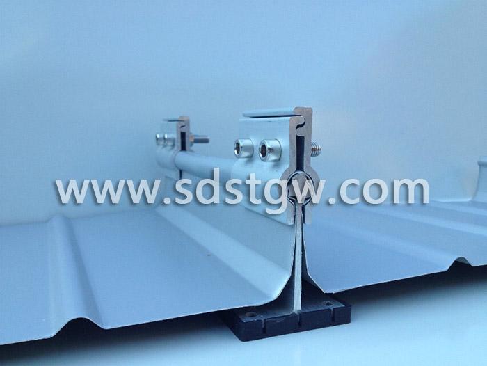 直立锁边铝镁锰板点式防风夹具 编码B004