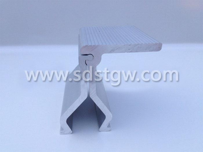 角驰彩钢屋面转接光伏防滑夹具 编码D008